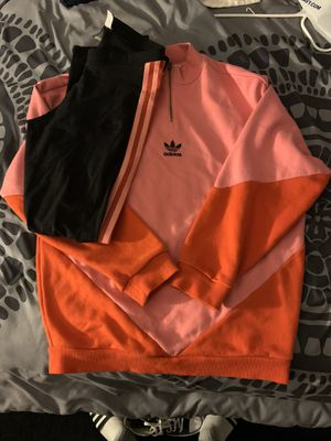 Women adidas crew neck, & tights for Sale in Gardena, CA