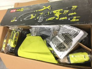 Ryobi 18 Volt 9 Tool Combo Trimmer Vac Reciprocating Circular Saw Multi tool Impact drill Sander for Sale in Mesa, AZ