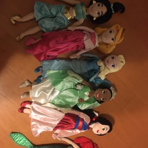 Disney Collectible Plush Dolls- for Sale in Houston, TX