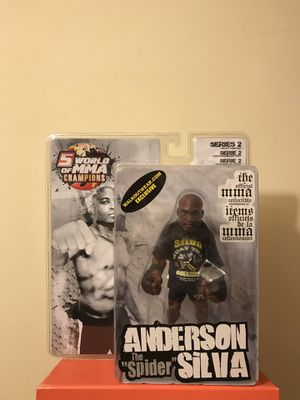 "UFC Legends Anderson ""The Spider"" Silva Sealed In Plastic New for Sale in Reedley, CA"