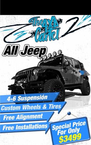 Wheels/tires/lift for Sale in Miami, FL
