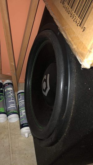 "15"" Sound qubed subwoofer for Sale in Creedmoor, TX"