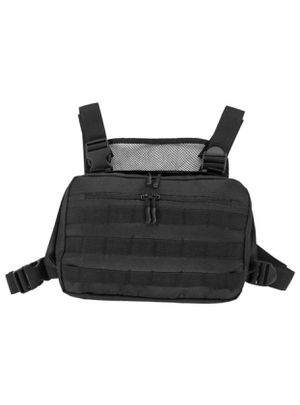 Recon Kit Bag Multi-function Tool Pouch, Tactical Combat l Molle Vest Pouch Lightweight Cordura Ballistic Nylon Plenty of Compartments EDC Chest Bag for Sale in Providence, RI
