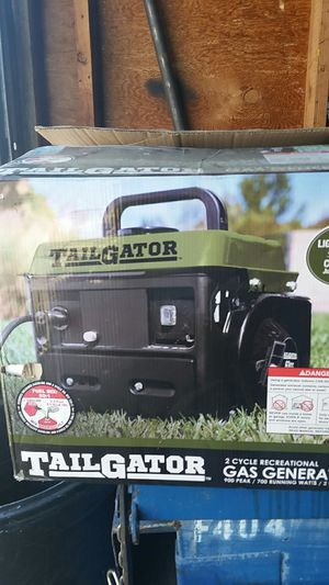Tailgator 2-cycle gas generator for Sale in Springfield, OR