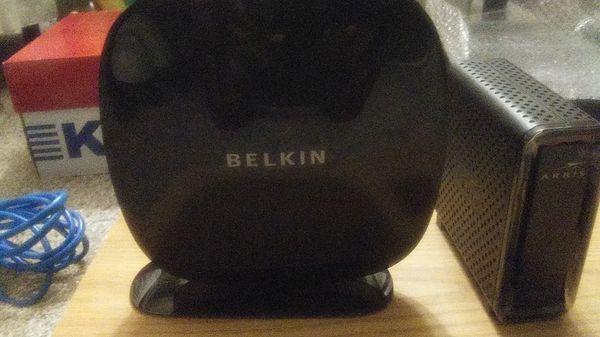 Arris surfboard 3.0 modem with Belkin router