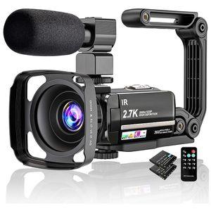 Video Camera 2.7K Camcorder Ultra HD 36MP Vlogging Camera for Sale in Ellenwood, GA