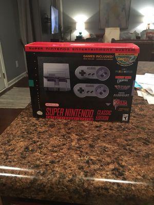 Super Nintendo mini for Sale in Nashville, TN