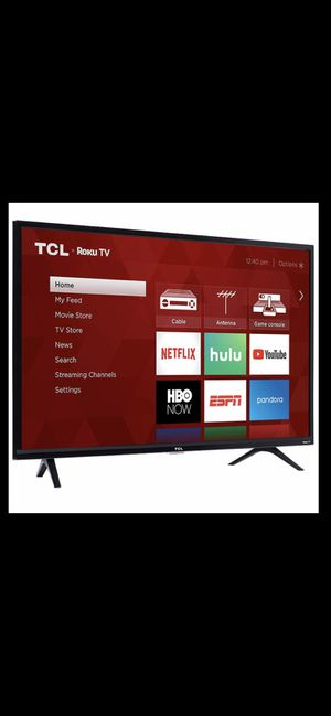 32 inch TCL Roku Smart HD TV Wi-Fi HDMI $100 New for Sale in Anaheim, CA