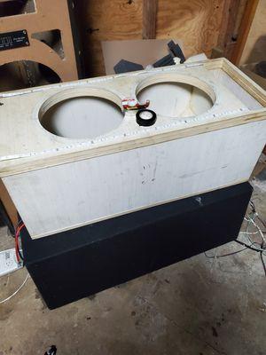 2 12 inch sub boxes for Sale in San Antonio, FL