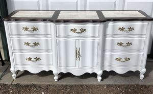 Refinished French Provincial Dresser for Sale in Colorado Springs, CO
