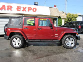 2012 Jeep Wrangler Unlimited Sahara for Sale in Downey,  CA