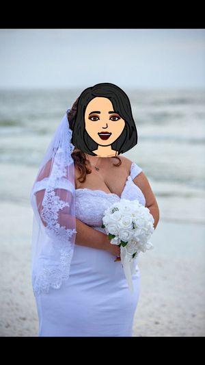 Wedding dress size 18 for Sale in Port Richey, FL