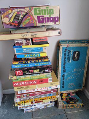 Vintage board games for Sale in Cedar Hill, TN