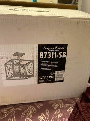 Designers fountain 87311-SB Lamp for Sale in Paterson, NJ