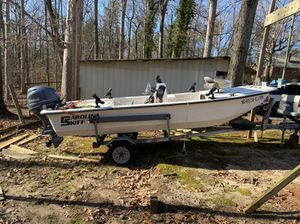 16' 96 Carolina 2019 Yamaha 50 Center Cosole for Sale in Winston-Salem, NC
