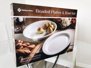 Bowl & Platter Set for Sale in Hayward, CA