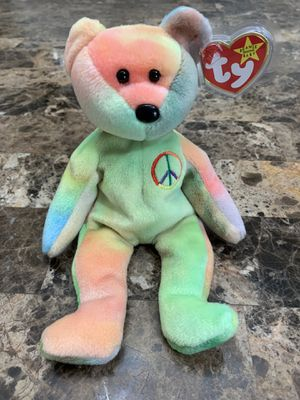 1996 TY Beanie Babies Peace the Bear - ORIGINAL for Sale in La Habra Heights, CA