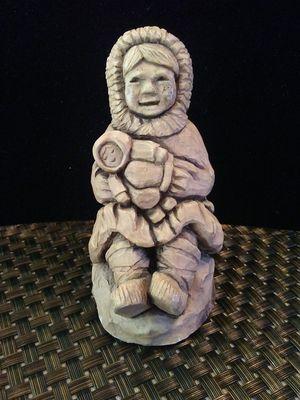 Earthquake Clay Eskimo child UNIQUE for Sale in Columbus, OH