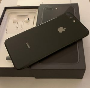 iPhone 8 Plus 64 GB never used Apple warranty fully paid off clean ESN AT&T, Cricket wireless and H2O networks $395 for Sale in Boston, MA