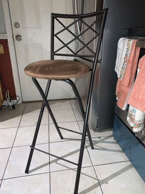 Tall stool / chair for Sale in Columbus, OH