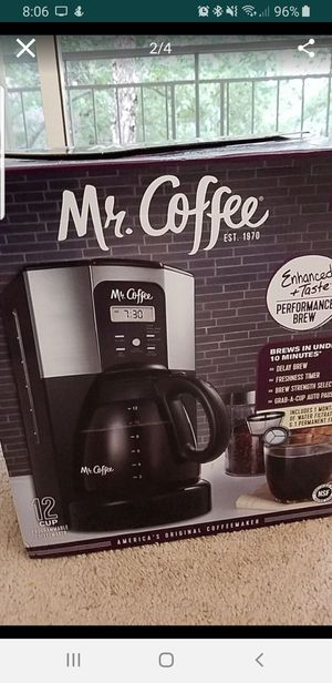 Mr. Coffee 12 cup programmable coffee maker for Sale in Falls Church, VA
