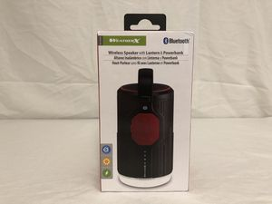 WeatherX Wireless Speaker with Lantern & Powerbank (New) for Sale in Minneapolis, MN