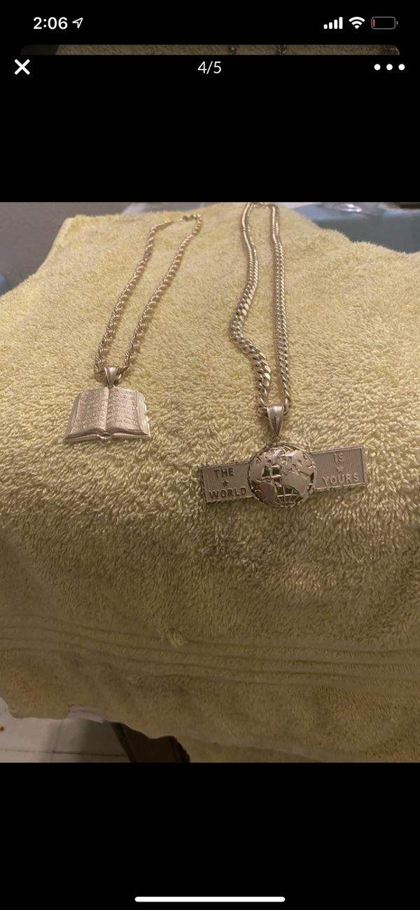 10k gold chains With Custom Made Pendants