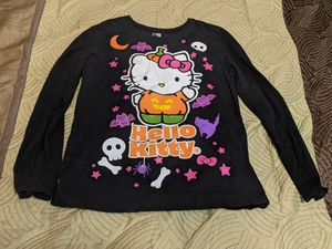 Spooky hello kitty halloween black shirt for Sale in Phoenix, AZ