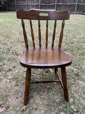 A single wooden chair for Sale in Burleson, TX