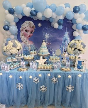 Birthday Party Decorations - Balloon Columns - Disney Frozen Queen Elsa or Any Theme for Sale in Hialeah, FL