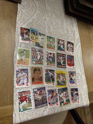 21 Red Sox Baseball Cards for Sale in New Port Richey, FL