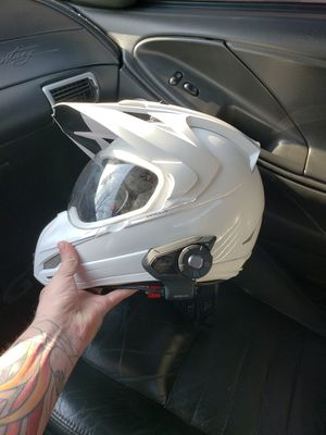 Motorcycle helmet with new Sena 30k for Sale in Henrico, VA