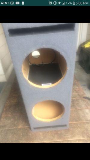 """10"""" dual ported sub box for Sale in Granite Falls, WA"""
