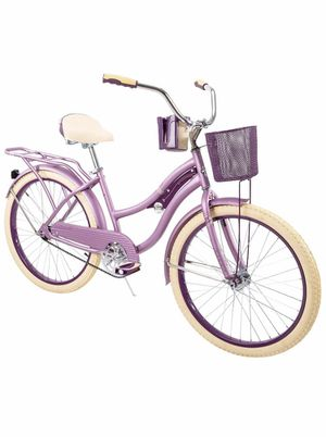 """Brand new assembled Huffy's Nel Lusso purple 24"""" bike cruiser for Sale in Kansas City, KS"""