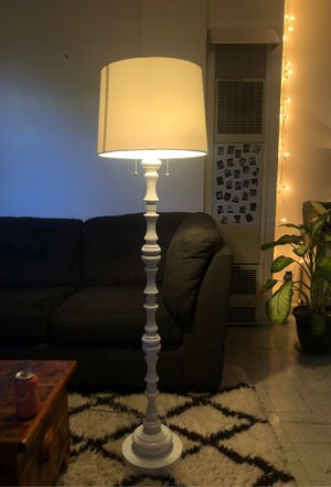 white floor lamp for Sale in Seattle, WA