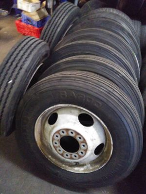 """We mount 19.5"""" RV & TRUCK TIRES BEST PRICE IN TOWN for Sale in Mesa, AZ"""
