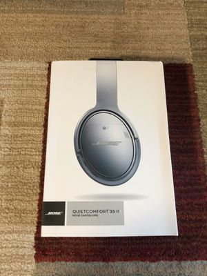NEW! Bose QuietComfort 35 II Noise Cancelling Headphones-Black for Sale in Virginia Beach, VA