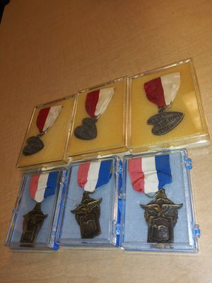 1962 and 1963 Berea Ohio swim meet metals and 7th annual water Wonderland metals for Sale in Cleveland, OH
