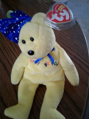 """2004 TY Beanie Babies """" Happy Birthday """" for Sale in Tollhouse, CA"""