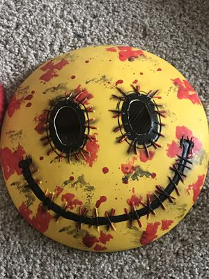 Smiley face with blood mask for Sale in Chula Vista, CA