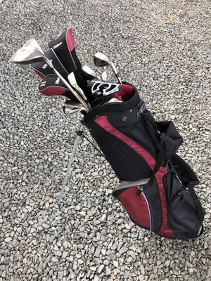 Golf Clubs, stand bag and stuff for Sale in San Francisco, CA