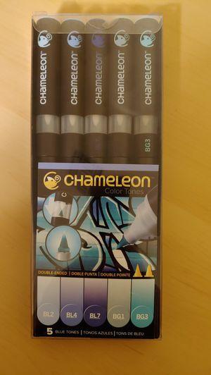 Chameleon Blue Marker set for Sale in Los Angeles, CA