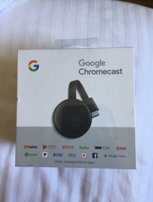 BRAND NEW - GOOGLE CHROME CAST 3rd Generation- Never Opened.d for Sale in Irving, TX