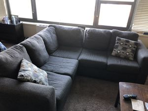 L-shaped sectional couch for sale for Sale in Chicago, IL