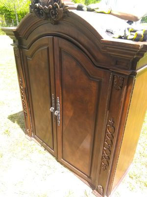 Two separate armoire top pieces no base for Sale in Washington, DC
