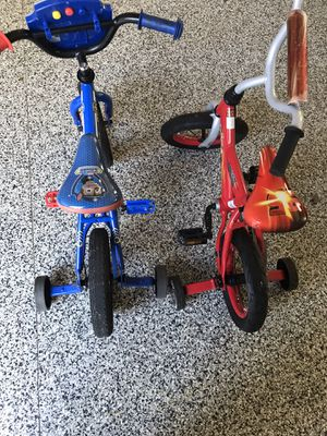 Toddler Bikes 12inches With training wheels for Sale in undefined