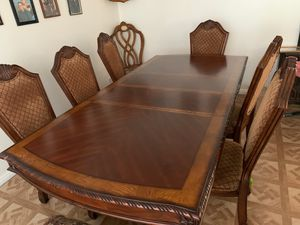 Kitchen table and china dining set. for Sale in Hesperia, CA