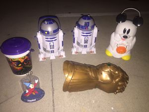 Disneyland collectibles (all for $60 dollars ) NOT SOLD SEPARATELY just one r2d2 for Sale in Monterey Park, CA