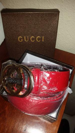 Red Gucci Belt for Sale in Salt Lake City, UT