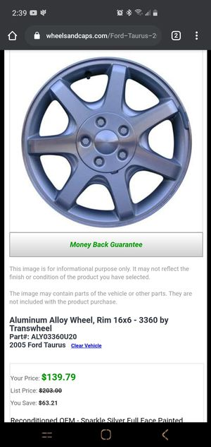 Car rims! for Sale in Anchorage, AK